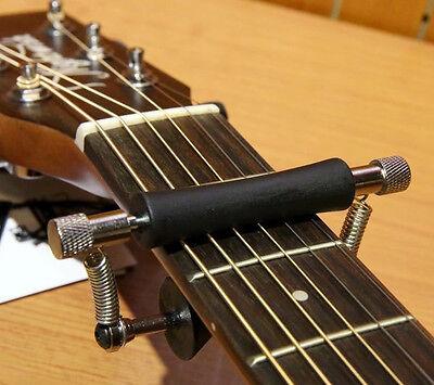 Guitar Fretboard Neck Rolling Capo Glider Like Tuning Mauley Brand