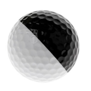 Golf-Ball-Golf-Training-1-68-039-039-Soft-Rubber-Balls-Practice-Ball-Black-amp-White