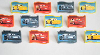 12 Hot Wheels Car Cupcake Rings Topper Kid Birthday Party Goody Bag Favor Supply
