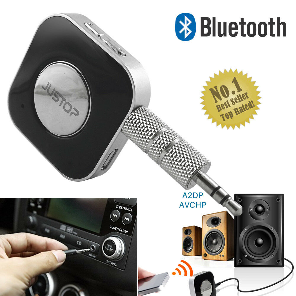 New Bluetooth USB Dongle 3.5mm AUX Stereo Audio Music Speaker Receiver Adapter