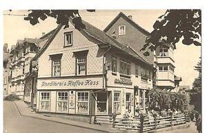 AK , Echt  Foto , FRIEDRICHRODA / Thür. , Cafe Hess , von 1960 , nicht gelaufen