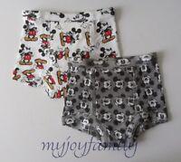 HANNA ANDERSSON Organic Training Unders Underwear Disney XS 80 90 18-24 2T 3 NWT
