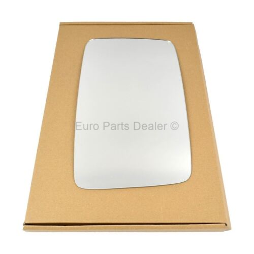 Driver Side CONVEX WING DOOR MIRROR GLASS For Fiat Ducato 1994-1999 Stick On New