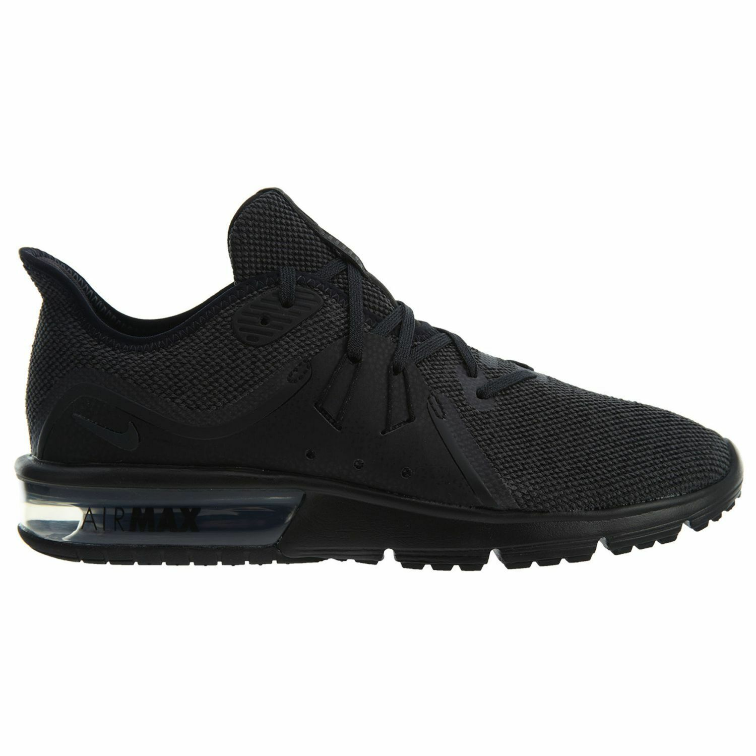 Nike Air Max Sequent 3 Womens 908993-010 Black Knit Running Shoes Comfortable Seasonal price cuts, discount benefits