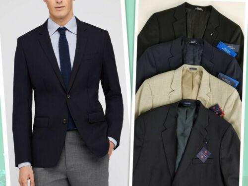 Saddlebred Men/'s Black Beige Blue Sport Coat Blazer Suits Size 42L,44L,46R NWT#B