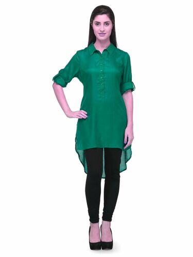 Kurta for Ladies Girls S-5XL Women Cotton Visose High Low Tunic Style Kurti