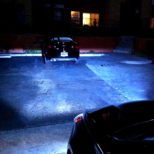 2x H1 8000K Ice Blue 76W LED Headlight Bulbs Kit 8000K Driving Light