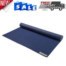 Yoga Jade Mat Harmony Professional 3 16 In Travel Jadeyoga Midnight Natural 68in Black For Sale Online Ebay