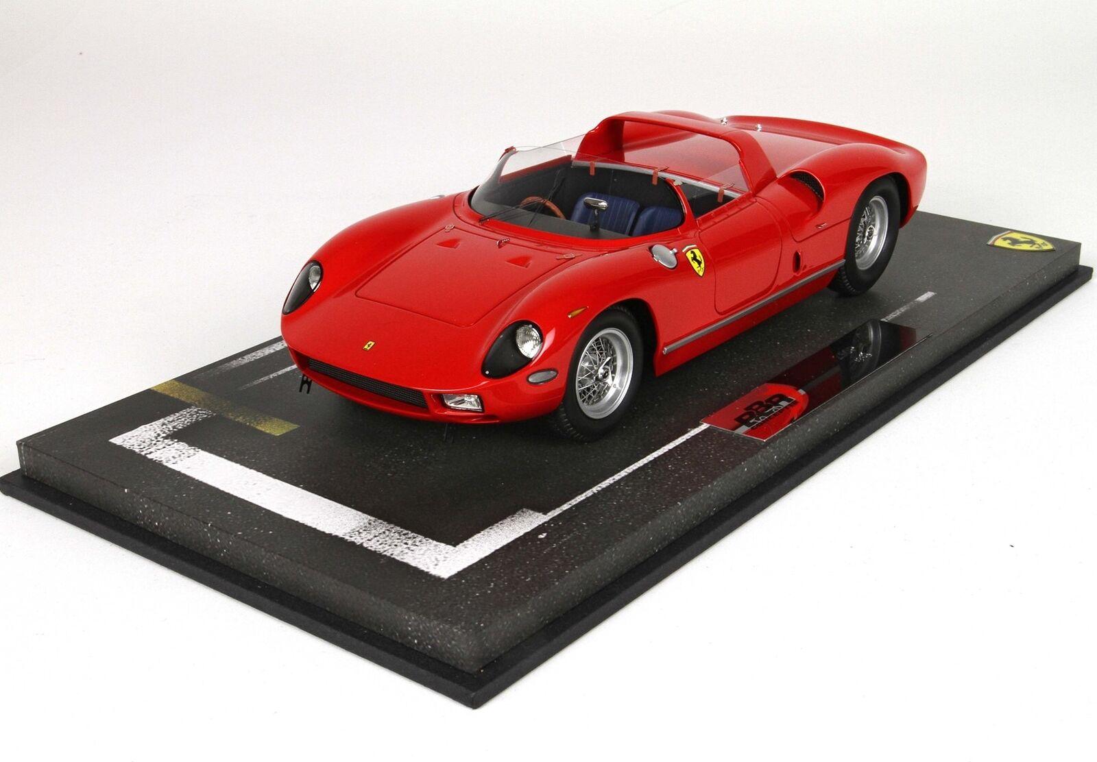 Ferrari 250 P Red BBR 1:18 BBRC1826AS