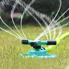 Gardena Rasensprenger 360# Grad Drehung Sprühdüse Drei Arm Bewässerung Sprinkler