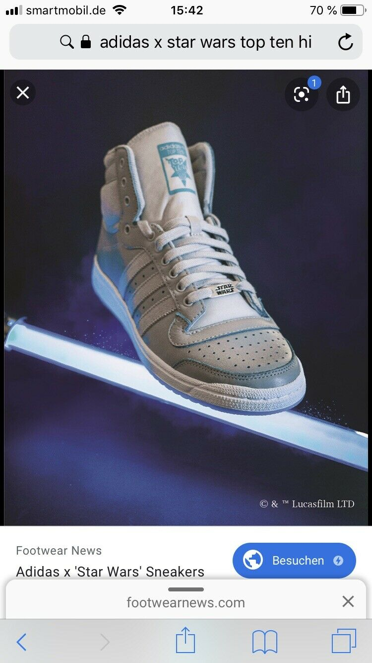 Adidas X Star Star Star Wars Top Ten Hi EU 42 c89