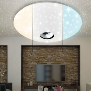 LED Decken Leuchte Schlafzimmer Sternen Himmel Lampe 3-Stufen ...