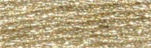 317W-E3821 DMC Light Effects Embroidery Floss 8.7yd-Light Gold