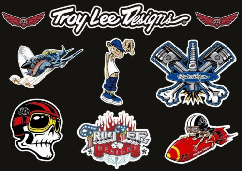 Troy Lee Designs Bike Bicycle Frame Decal Stickers Graphic Adhesive Set Vinyl #6