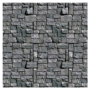 image is loading party supplies fright night halloween wall backdrop stone