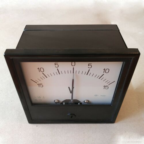 1.5 Accuracy DC Analog Volt Panel Meter M381 Voltmeter Gauge 120*120mm Any Range