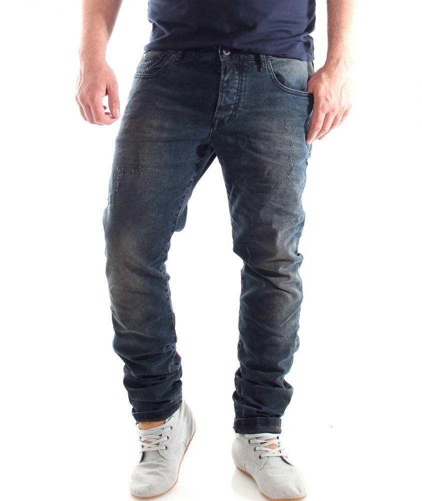 SCOTCH & SODA Ralston Jeans Pantaloni Slim Fit-Night Powder Nuovo con etichetta