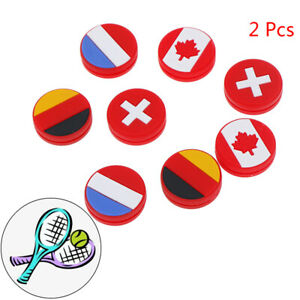 2-Pcs-National-Flag-Silicone-Tennis-Racket-Shock-Absorber-Damp-H-E