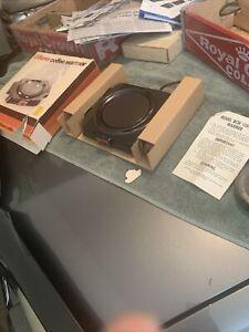 Vintage new Bunn Model BCW Coffee Warmer