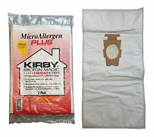 Lot of 6 Kirby Micron Magic Micro Allergen Plus HEPA Vacuum Filter Bags