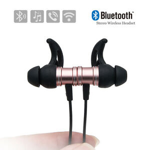 BANDTILESport Bluetooth 4.1 Kopfhörer Wireless Stereo MIC Headset Ohrhörer In Ear Im Ohr