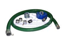 Suction Hose Pvc Green Standard 1 12 X 20 Ft Fits Honda 25 Ft Blue