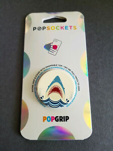 New Authentic Popsockets Shark Jump Great White Jaws