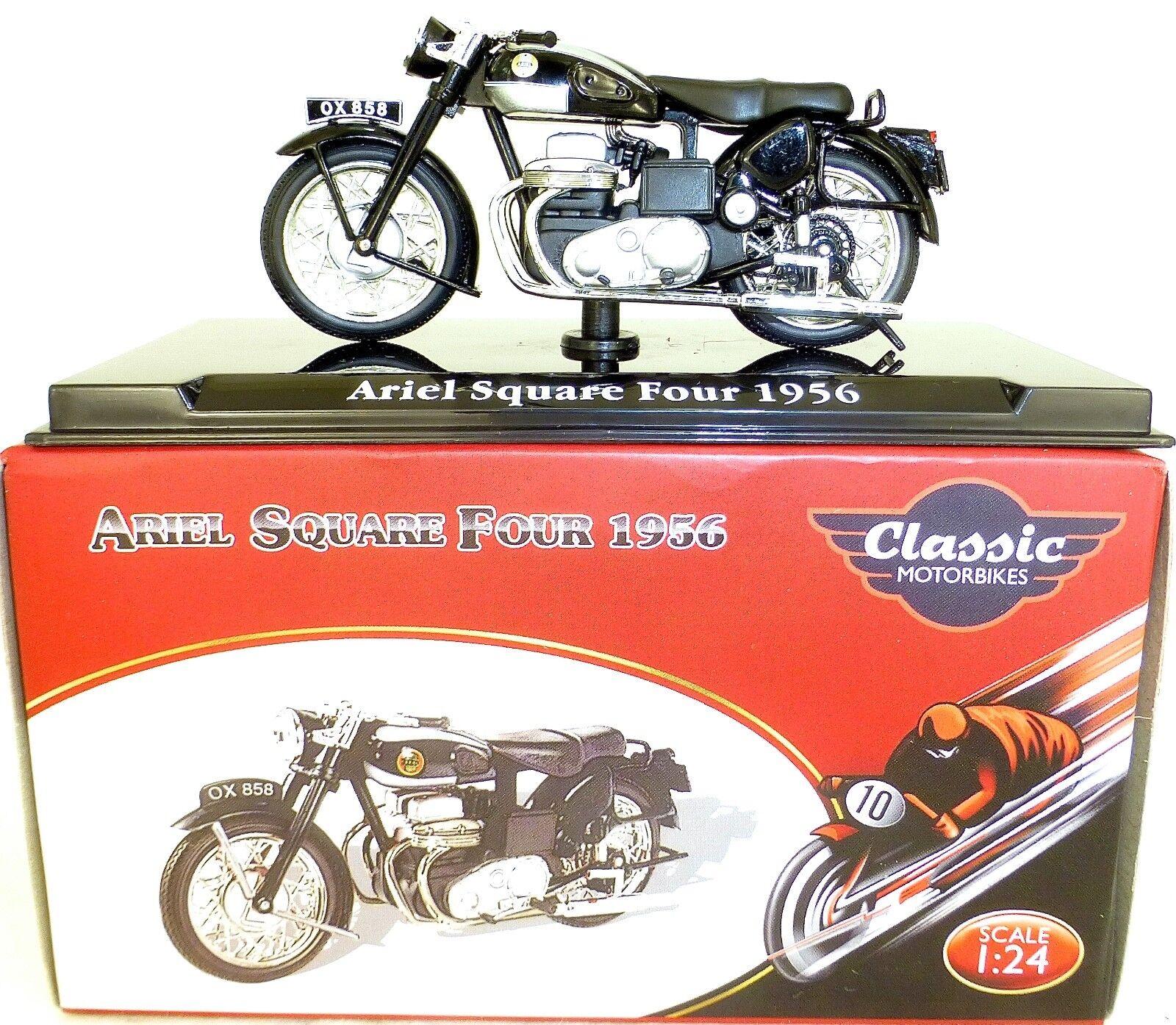 ARIEL SQUARE FOUR 1956 Motorcycle Classic Atlas 4658114 Neu 1 24 OVP HC3 µ