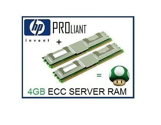 4GB (2x2GB) FB-DIMM ECC Memory Ram Upgrade for HP Proliant DL380 G5 Server