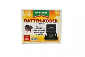 Le Dr exclusif le Rat Appât-DEPOT avec coup piège- 1 Unités-pot mit Schlagfalle- 1 Stückafficher le titre d`origine sVFa8UL9-07193543-204848910