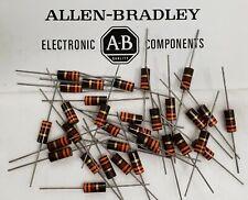 Allen Bradley Amp Ohmite Carbon Composite Resistors 1 Watt Amp 2 Watt Nob