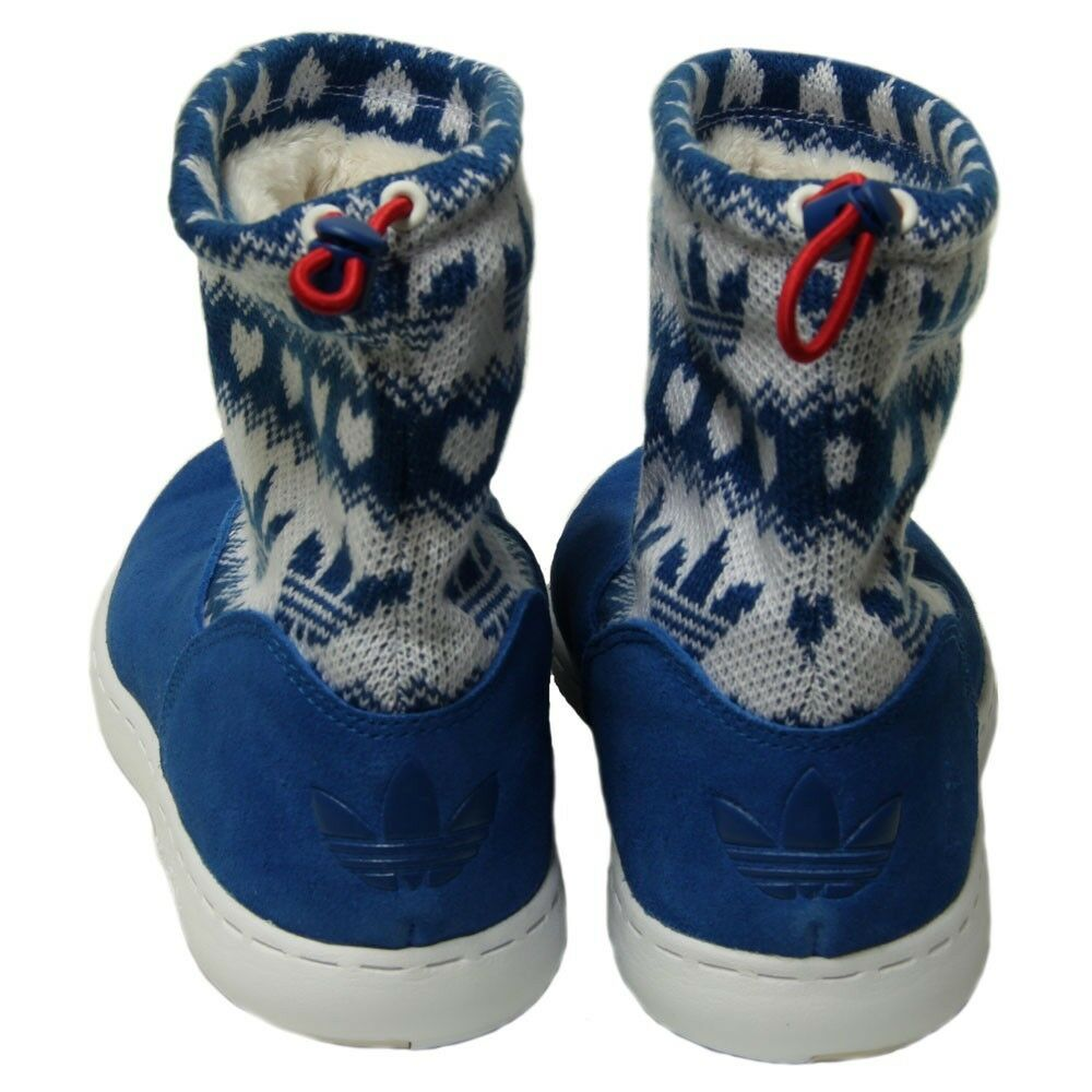 Neue  adidas haltung winter mitte stiefel stiefel stiefel pelzbezogenes schuhe schatz superstar Damenss sz - 6 a09c99