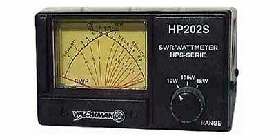 Workman HP202S CrossNeedle 1000 Watt SWR Power Watt Meter