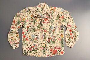 vintage-Gucci-Blouse-mini-flora-Accornero-long-sleeve-shirt-top-1970s-women-039-s