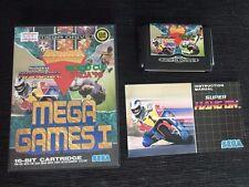NEW OLD STOCK Sega Genesis Mega Drive GAMES 1 WORLD CUP 90 COLUMNS SUPER HANG ON