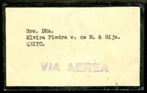 EDW1949SELL-ECUADOR-Choice-Air-Mail-Internal-Mourning-cover
