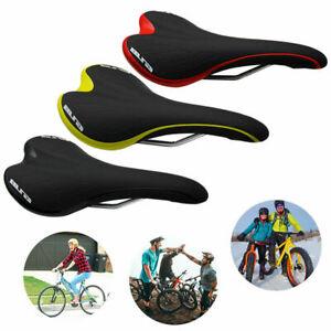 MTB Comfort Saddle Bike Road Mountain Bicycle Cycling Seat Soft Cushion Pad