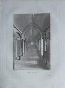 1835 Antico Sussex Stampa Cinese Portafoto
