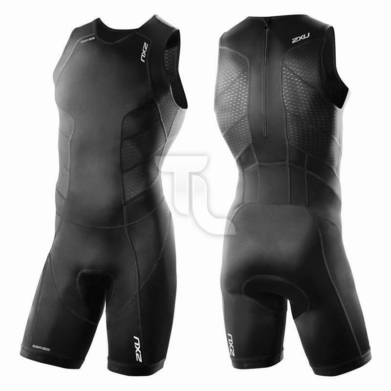 2XU Perform Rear Zip MT3860 Herren Einteiler Trisuit NEU Backzip Triathloneintei