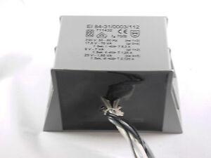 Netztransformator-vergossen-17-V-3-2-A-54-VA-mains-transformer-230-V-EI-84-31