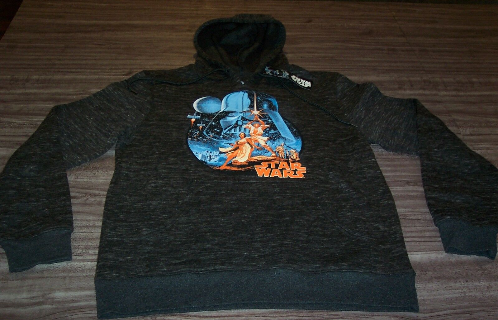 STAR WARS A NEW HOPE HOODIE HOODED Sweatshirt MEDIUM NEW w/ TAG