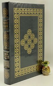 SIGNED Easton Press FIGHT CLUB Chuck PALAHNIUK Collectors LIMITED Edition BANNED