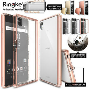 new styles 4378f 30676 Details about Sony Xperia Z5 Z5 Premium Case Z3 Z5 Compact Genuine RINGKE  FUSION Bumper Cover