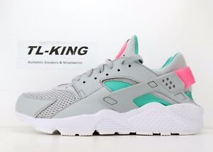 Nike Air Huarache Run South Beach Wolf Grey Sunset Pulse 318429 053 ... 7e6ad592c