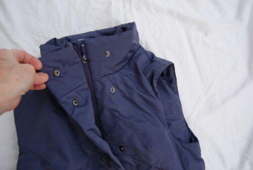 Nwt Snap Vest Front Gear Dark Cold Small Zip Armour Under Lavendel Primaloft OO0pra