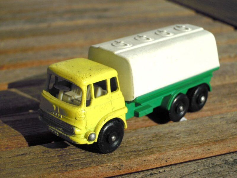 Matchbox Lesney Lesney Lesney 25 Petrol Tanker Very Good Condition 41fa48