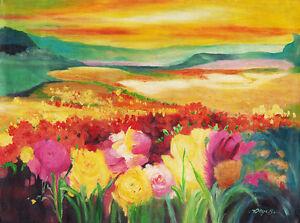 Hand-painting-Balinese-Flower-Field-250