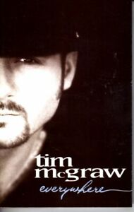 Tim-McGraw-Everywhere-1997-Cassette-Tape-Album-Classic-Country-Folk-Rock