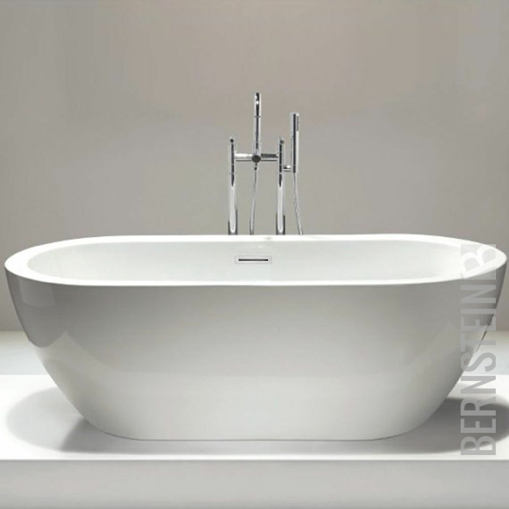 Vasca da bagno freestanding  JAZZ   BS-827, con rubinetteria 8028