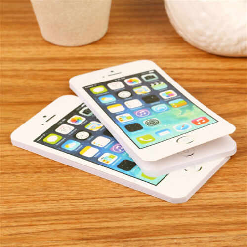 Sticky note paper cell phone shaped memo pad gift office suppli W